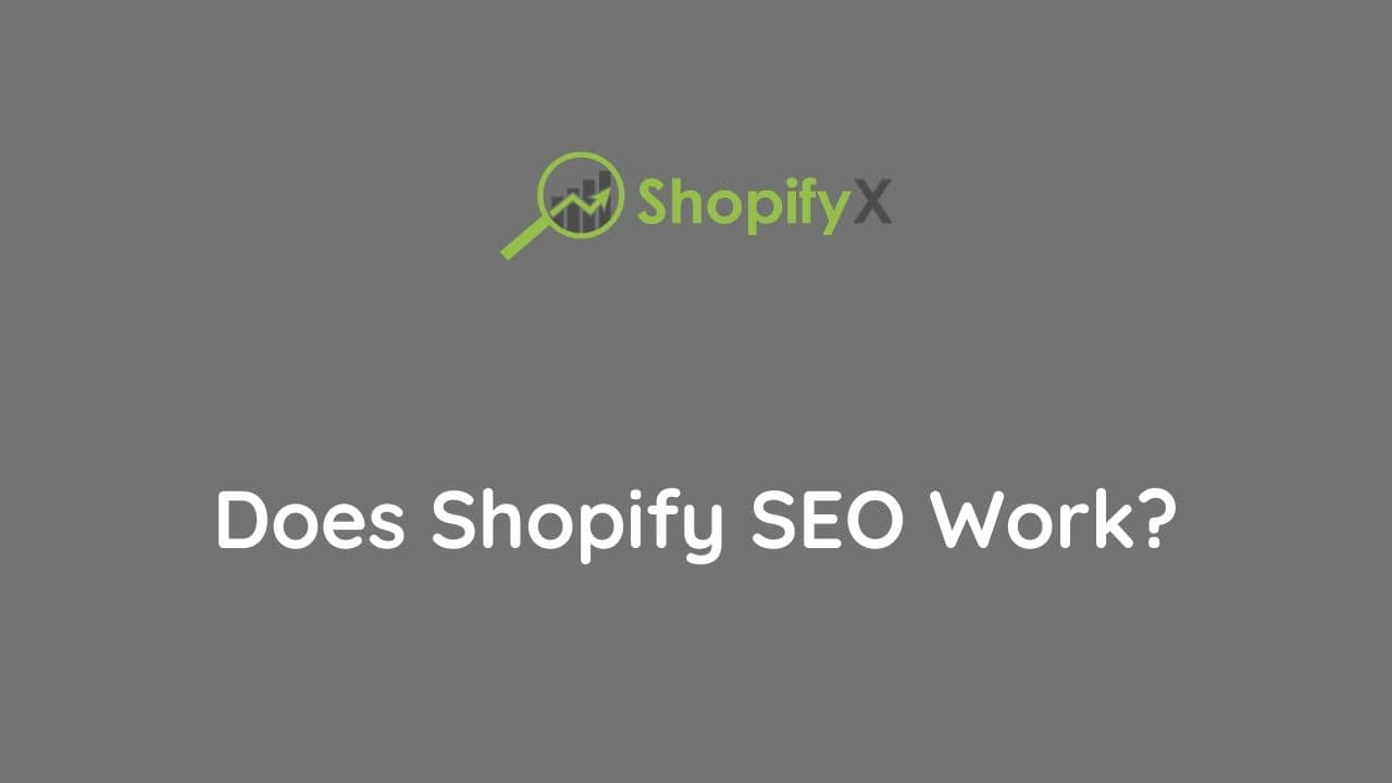 seo and shopify