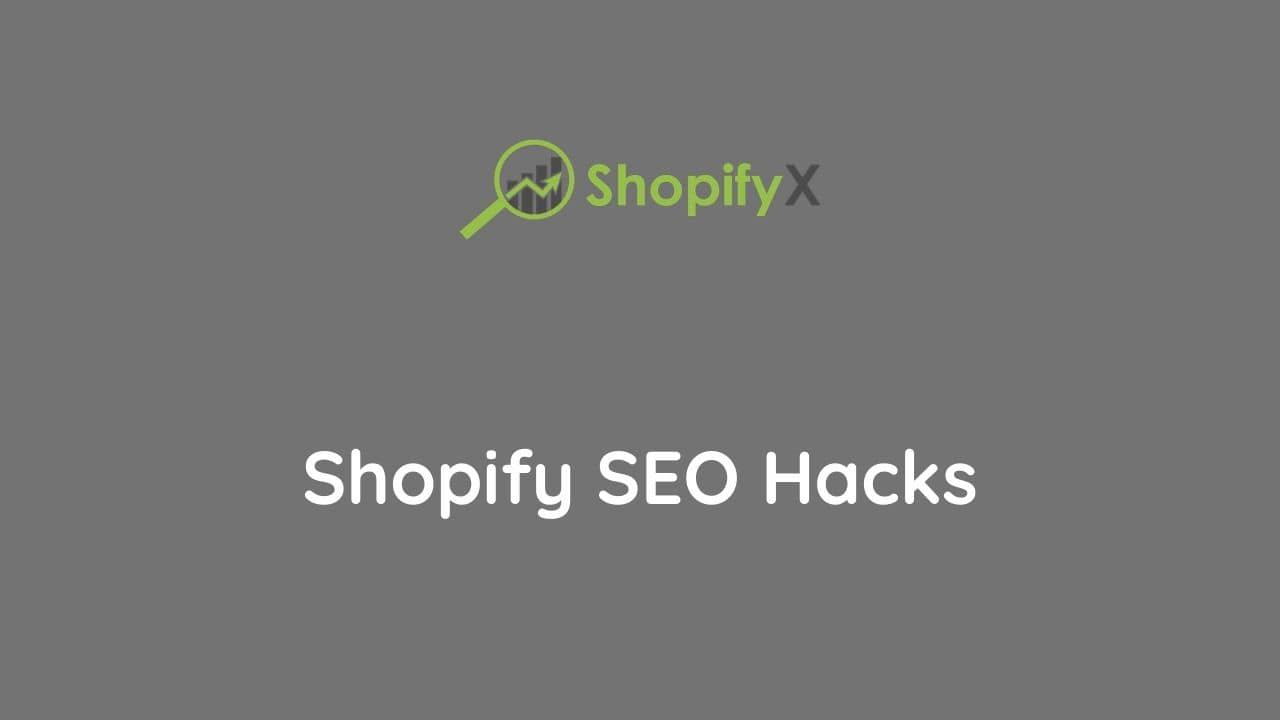 nest shopify seo hacks