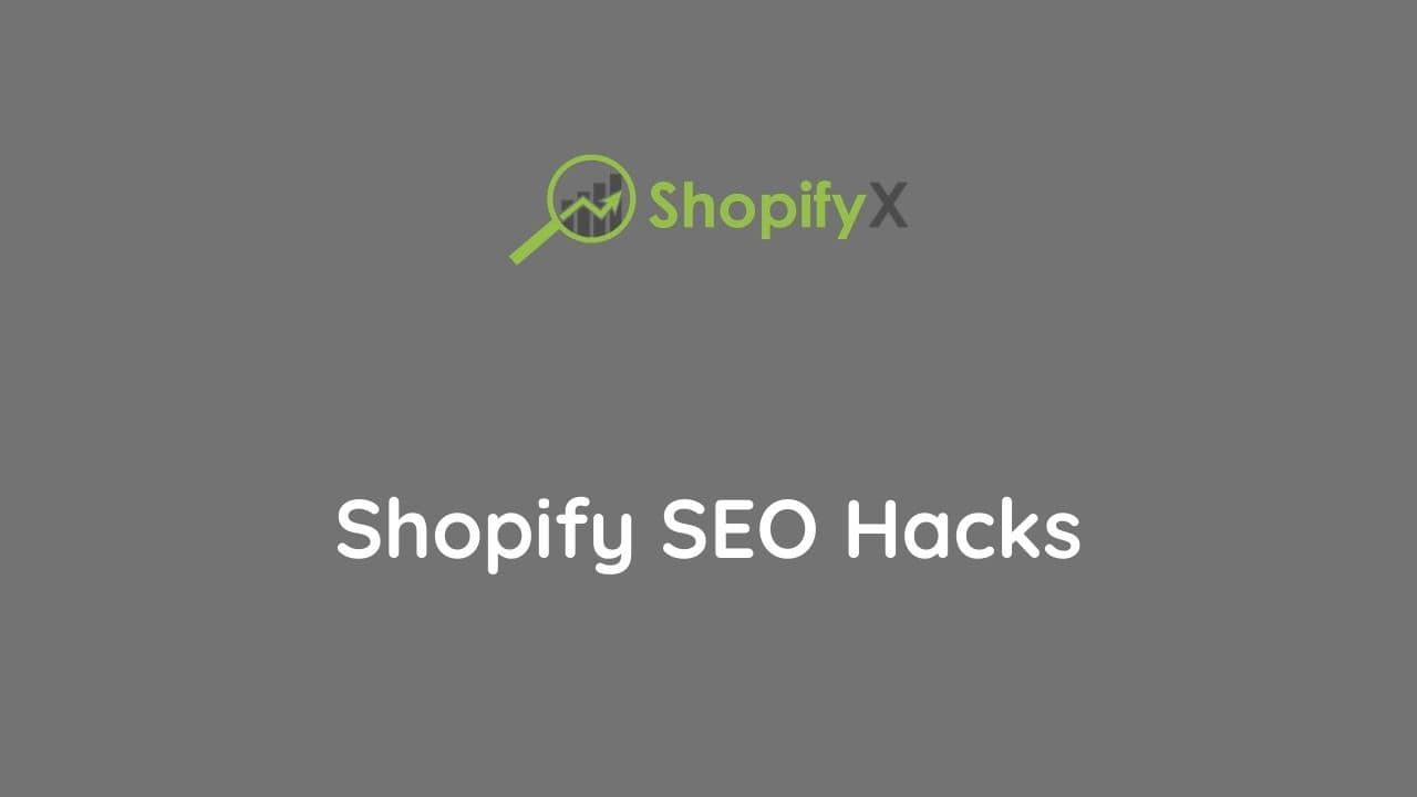 nest shopify seo hacks