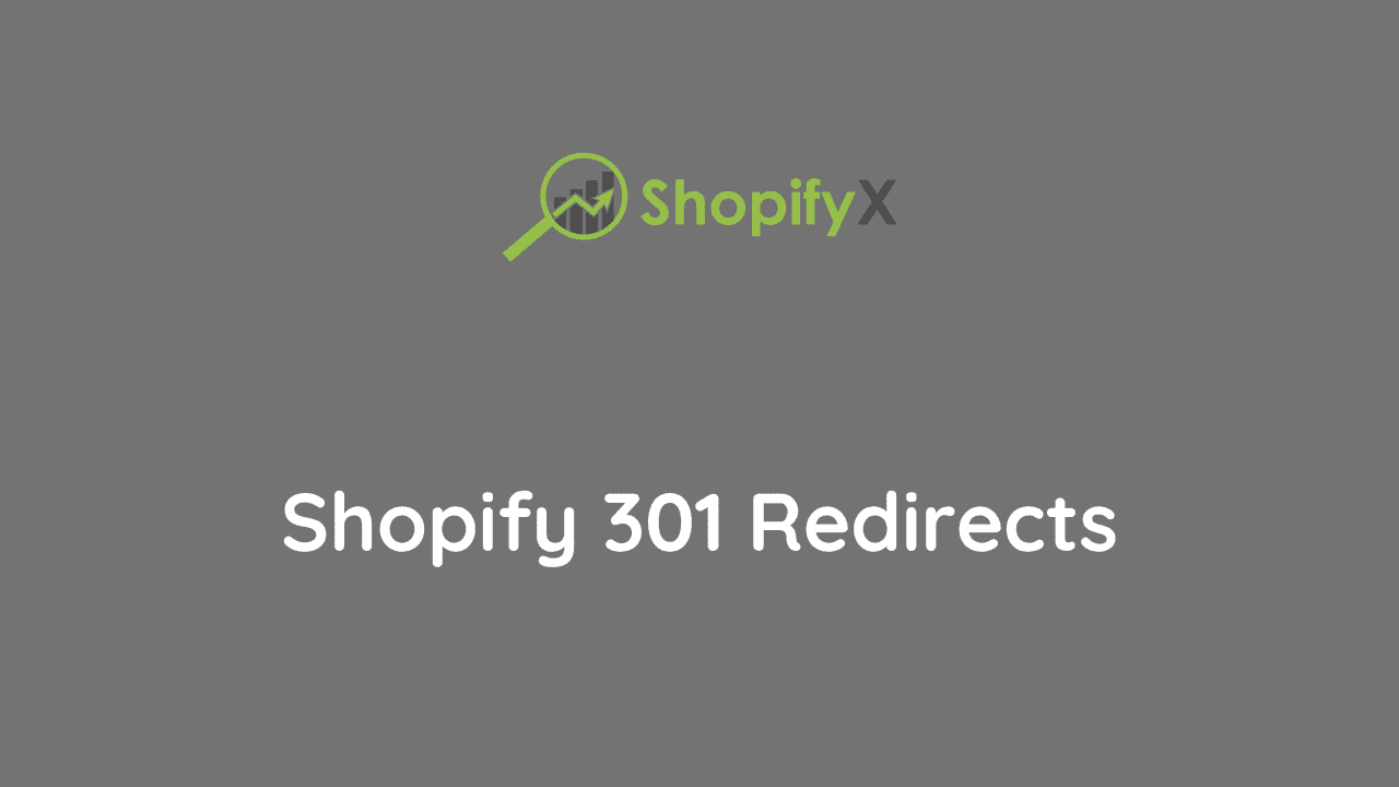 url redirects in shopify
