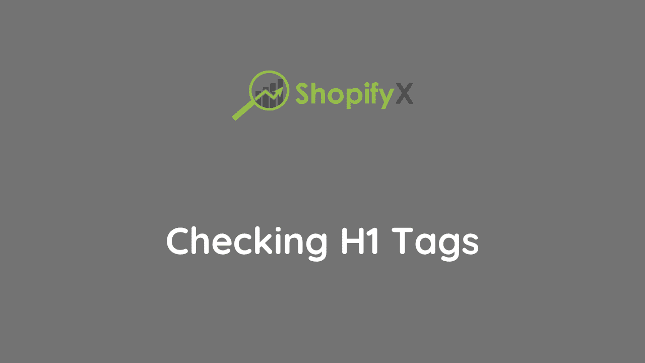 shopify h1 tags