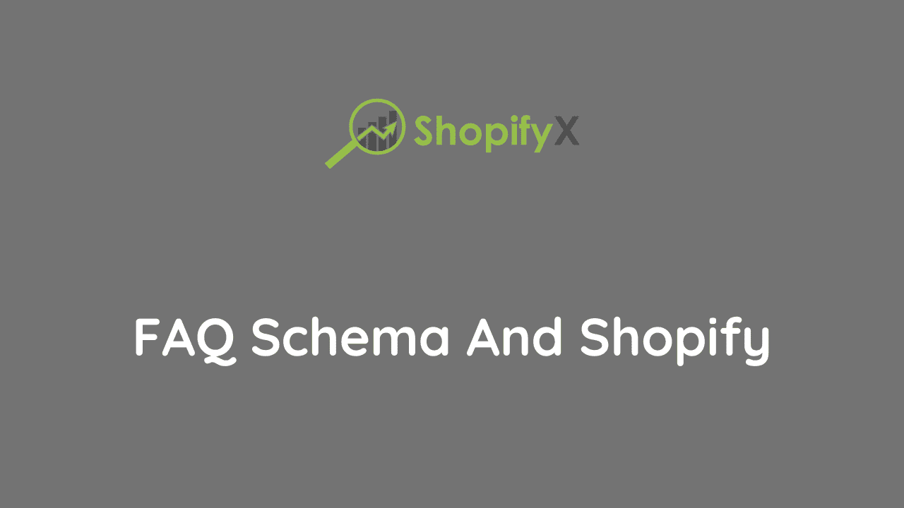 use FAQ schema with Shopify