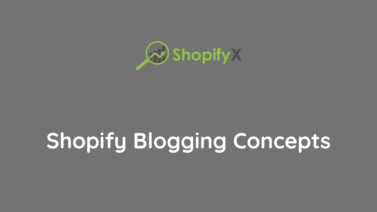 how to blog with shopify